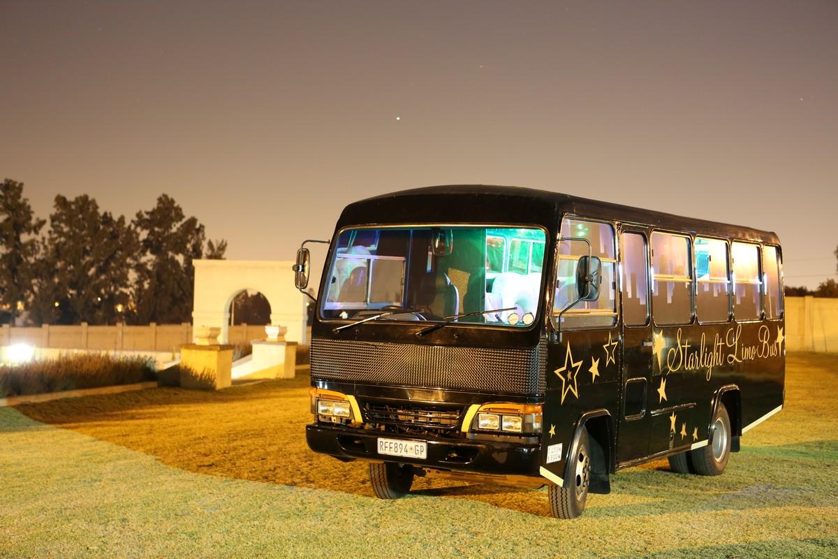 party bus hire johannesburg